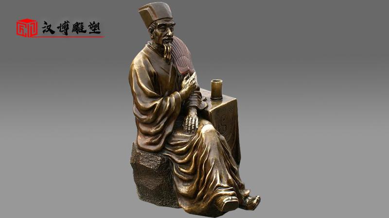 锻铜雕塑加工_大型景观雕像_户外园林塑像_人物雕像定制_雕塑制作厂家