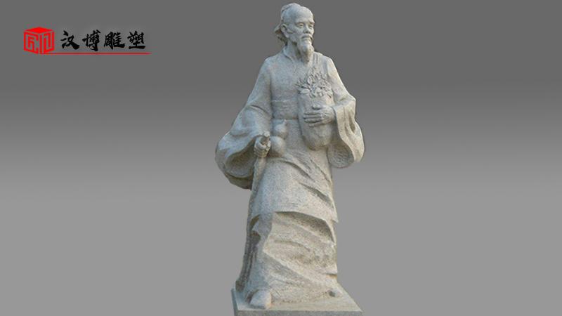 石雕制作厂家_户外大型石雕_花岗岩主题雕塑_历史人物雕像_名人石雕定制