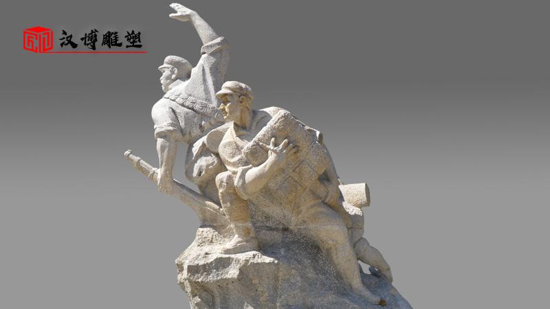 大型雕塑_军人雕像_士兵雕像_战士雕像_雕像定制