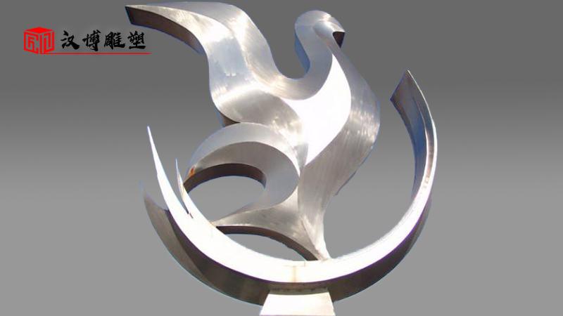不锈钢雕塑定制_户外大型雕塑_园林景观雕像_雕塑制作厂家_城市广场雕塑