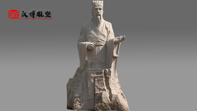 大型石雕像_人物雕塑定制_户外景观石雕_人物雕塑定制_石雕制作厂家