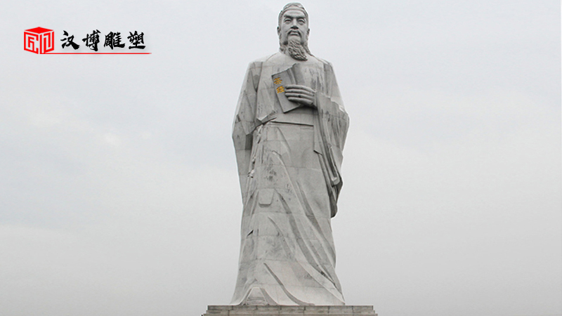 历史人物雕塑_名人雕像定制_户外大型石雕_人物石雕像_大型动物雕塑