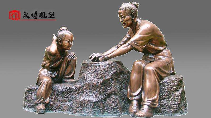 规划建设校园艺术主题人物雕塑,促进校园文化的教育意义