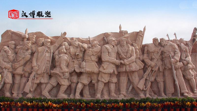 大型雕塑定制_人物铸铜雕像_军人雕像制作_户外景观雕塑_部队军人雕塑