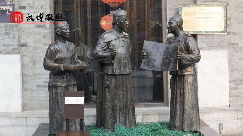 商业街主题雕塑已经步入现代社会中景观雕塑的工艺品最佳之选