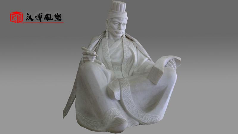 人物石雕定制_大型景观雕像_户外园林雕塑_历史人物雕像_石雕制作厂家