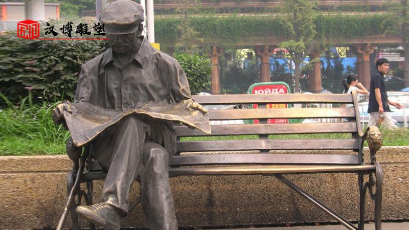 人物铸铜雕塑_商业街雕像_古街文化铜雕_人物雕像厂家_民俗文化铜雕