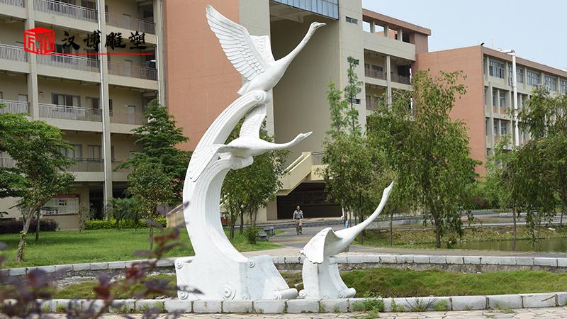 校园文化雕塑_人物石雕像_大型雕塑定制_人物雕像_校园主题雕塑