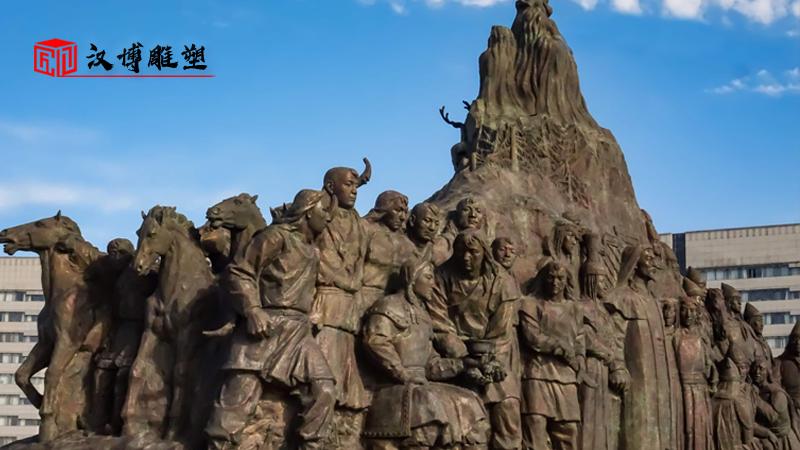 户外大型雕塑_园林景观雕像_大型雕像定制_户外大型雕塑_广场景观铜雕