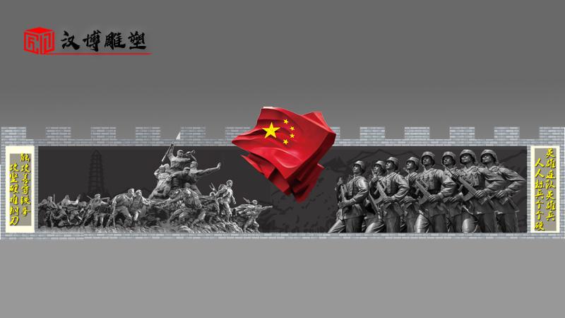大型军人雕像_户外景观雕塑_人物雕像定制_人物铜雕制作_军人主题雕像