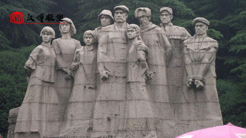 户外大型雕像_人物雕塑制作_石雕定制厂家_大型雕塑定制_广场景观雕像
