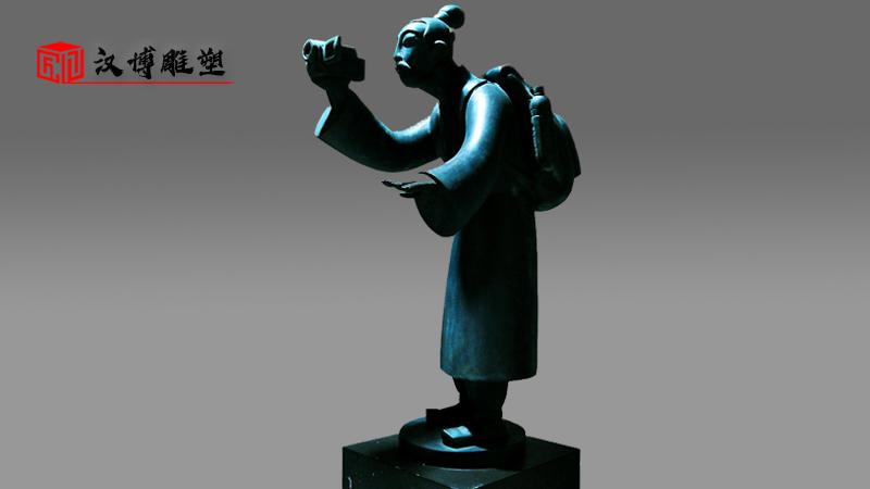铜雕制作厂家_加工锻铜雕塑_大型景观雕塑_人物雕像定制_户外园林铜雕