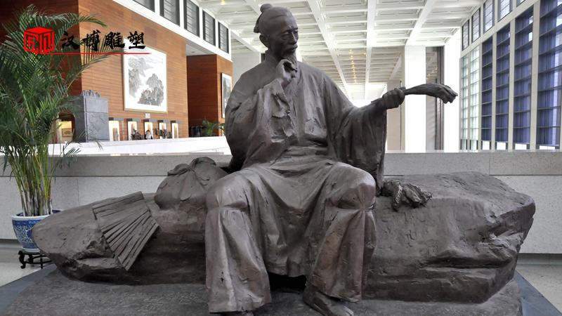 """历史名人雕塑欣赏;让我们一起向""""农圣""""贾思勰致敬"""