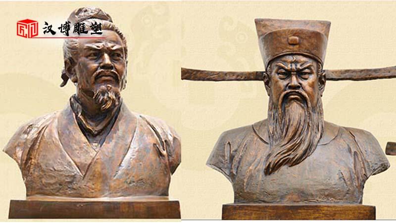 历史名人雕塑_户外景观雕像_人物铸铜铜雕_名人主题雕像_人物铜雕制作