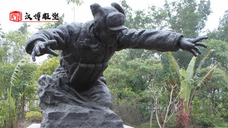人物铜雕制作_历史名人雕塑_人物铸铜雕像_名人主题铜雕_户外景观雕像