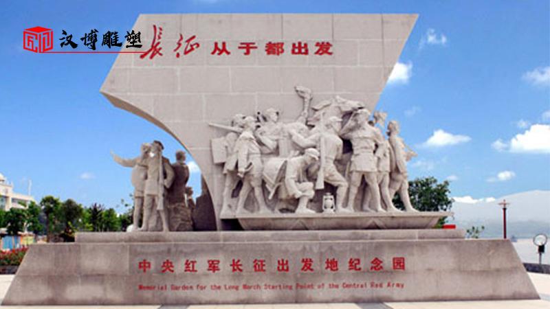 军人雕像制作_红色文化雕塑_人物铜雕加工_大型景观雕塑_军人主题雕像