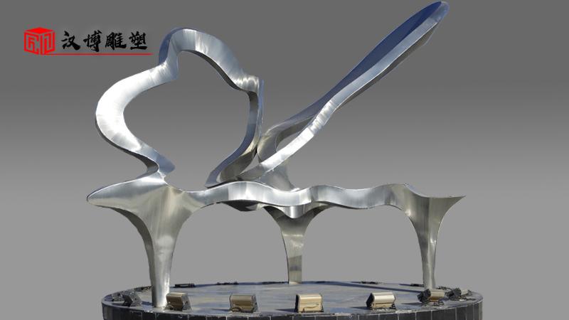 文化艺术雕塑_不锈钢雕像_大型雕塑定制_广场景观雕塑_园林雕像
