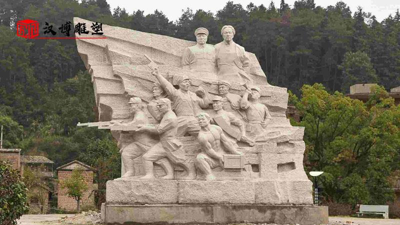 大型雕塑制作_户外人物雕像_石雕定制厂家_户外景观雕塑_大型雕塑定制
